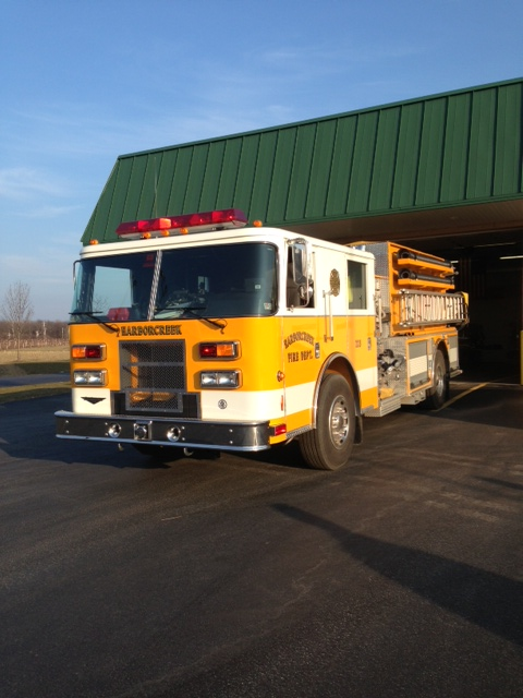 Kme Pump Heater: Harborcreek Volunteer Fire Dept